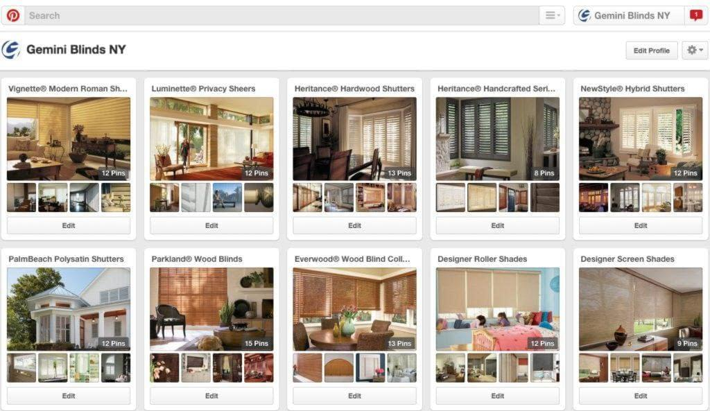 Vision2Market Social Media Customization Pinterest