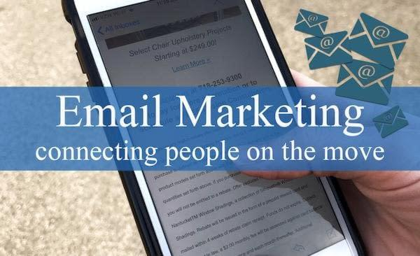 Email Marketing with email blasts